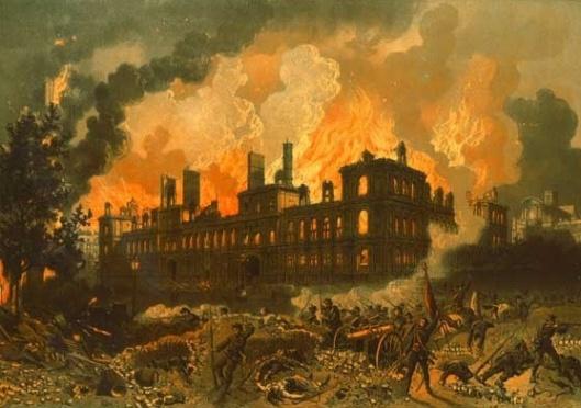 hotel en feu