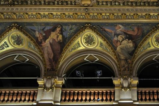 Pintura no teto do salão, Auvergne e Lorraine