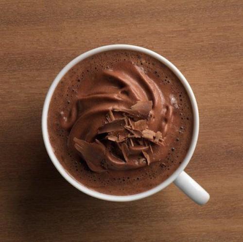 chocolat chaud Hevin