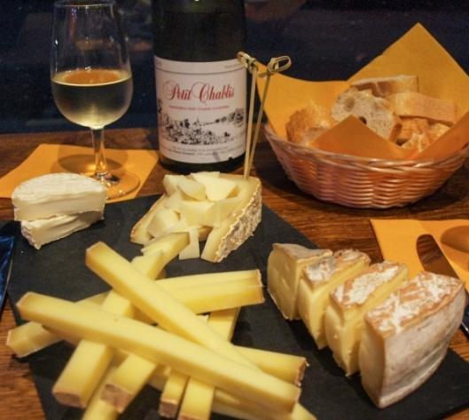 queijso e vinhos