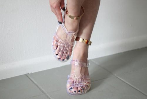 meduse chaussures tendance
