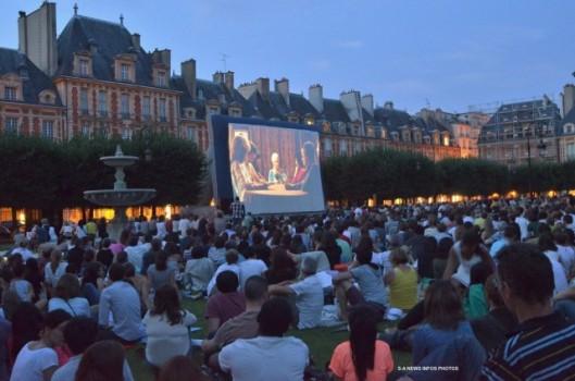 cinema plein air
